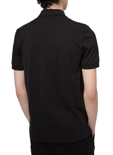 Hugo Boss  Pamuklu Slim Fit Polo T Shirt Erkek Polo 50447938 001 Siyah